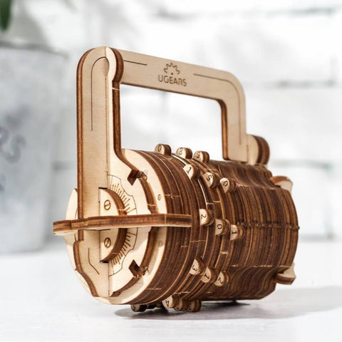 Ugears Combination Box/Lock Puzzle - bigsmall.in