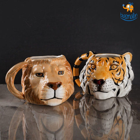 3D Animal Head Mugs - bigsmall.in
