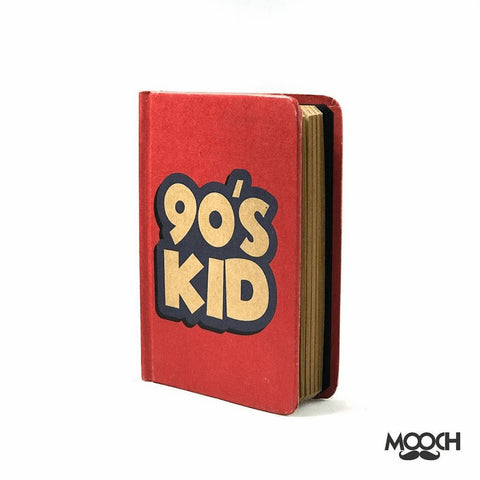 90's Kid A6 Notebook With Elastic - bigsmall.in