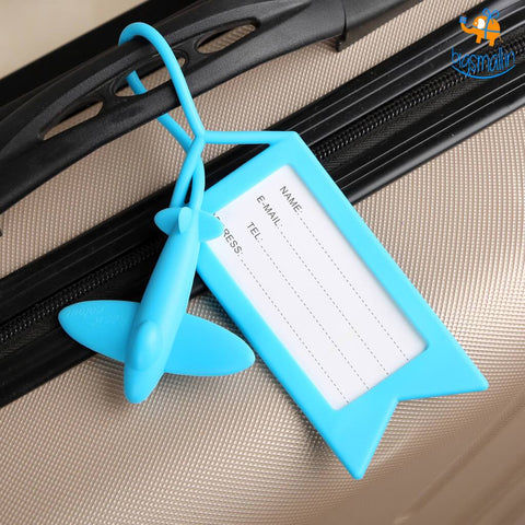 Airplane Luggage Tag - bigsmall.in