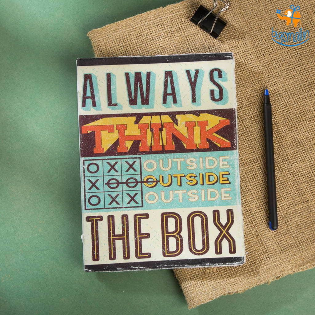 Think Outside The Box Notebook