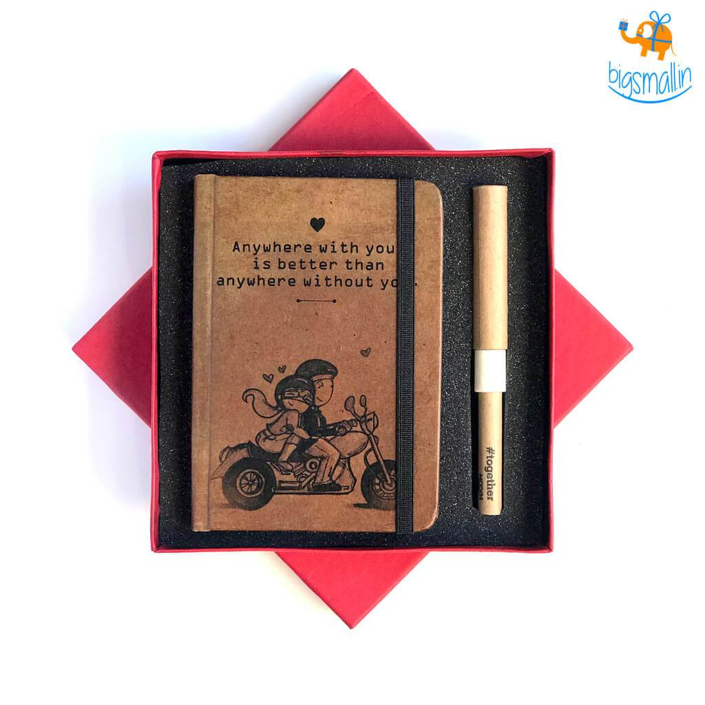 Take Me For a Ride Diary & Pen Set - bigsmall.in