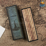 Imperial Maps Pencil Set - Set of 6
