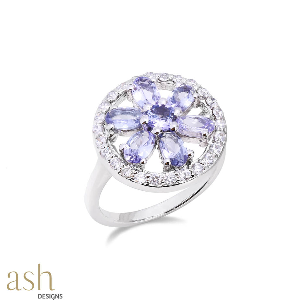 Azura Tanzanite Gemstone Ring