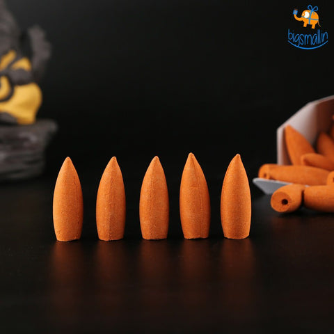 Backflow Incense Cones - Box of 70 - bigsmall.in