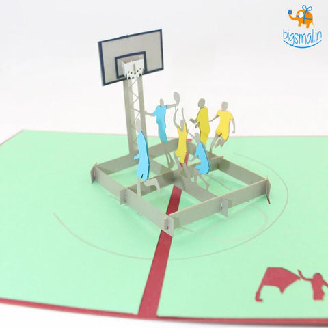 Basketball Pop up Card - bigsmall.in