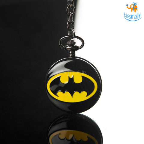 Batman Pocket Watch Keychain