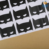 Batman Decal Stickers - Set of 24 - bigsmall.in