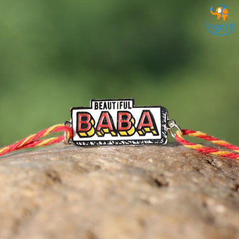 Beautiful Baba Rakhi