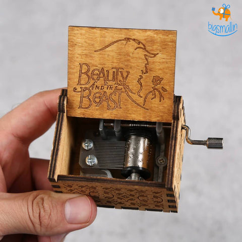 Beauty & The Beast Music Box - bigsmall.in
