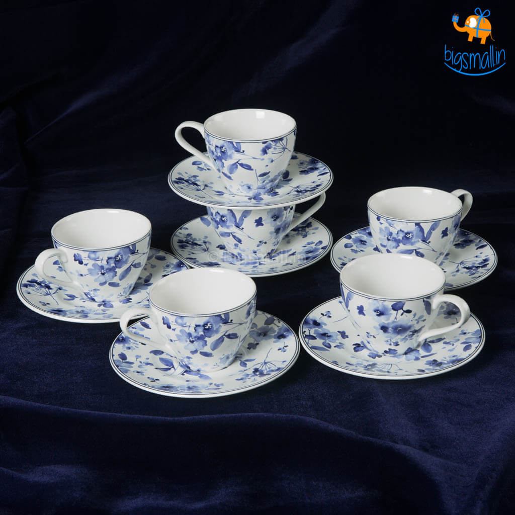 Sydney Blue Tea Set - Set of 6