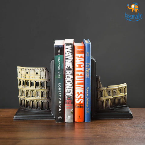 Rome Colosseum Bookends
