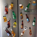 Spirits Opener Fridge Magnet