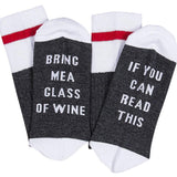 Bring Me Wine Socks - bigsmall.in
