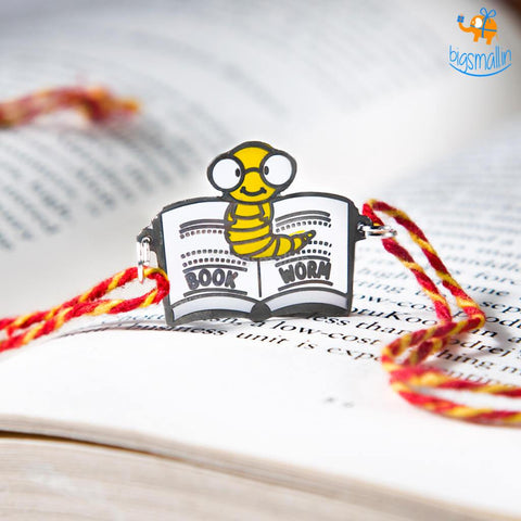 Book Worm Bro Rakhi - bigsmall.in