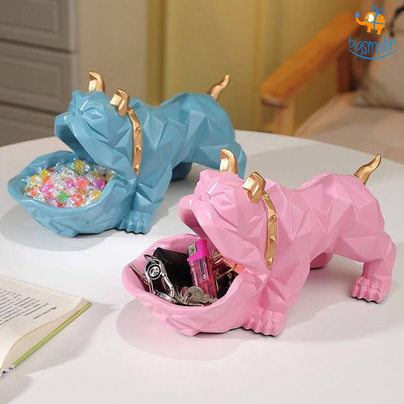Bulldog Storage Table Ornament - bigsmall.in