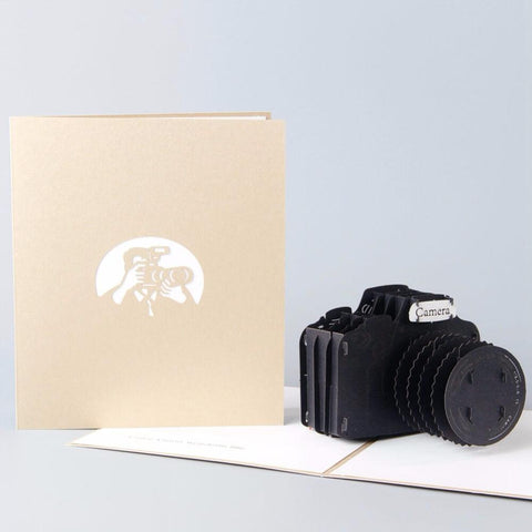 Camera Pop Up Card - bigsmall.in