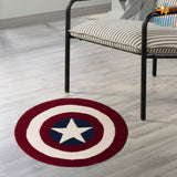 Captain America Shield Rug