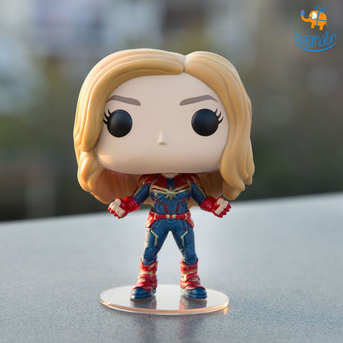Captain Marvel Funko POP Bobblehead - bigsmall.in