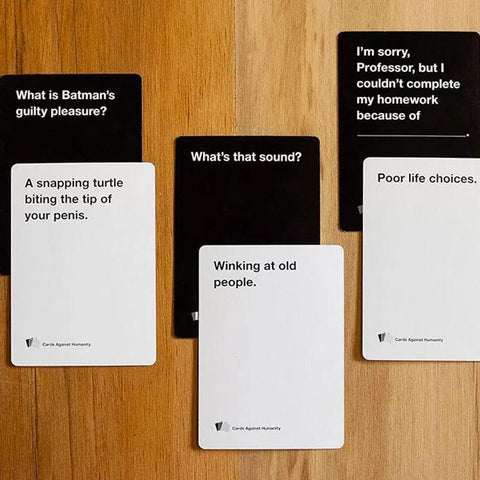 Cards against humanity - bigsmall.in
