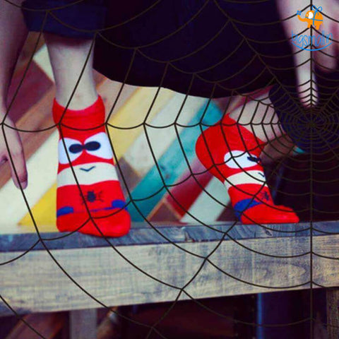 Spiderman Cartoon Socks - bigsmall.in