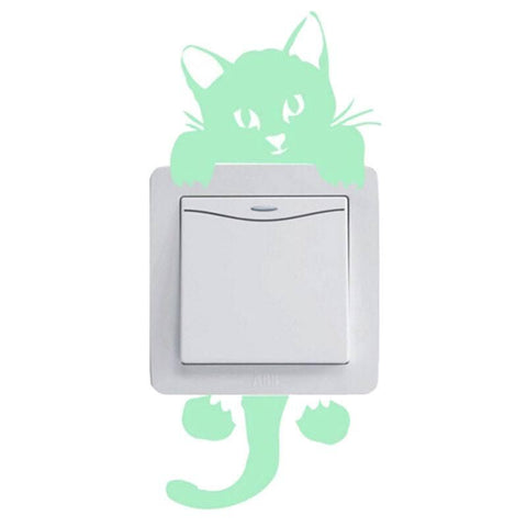 Cat Switch Stickers - Set of 2 - bigsmall.in