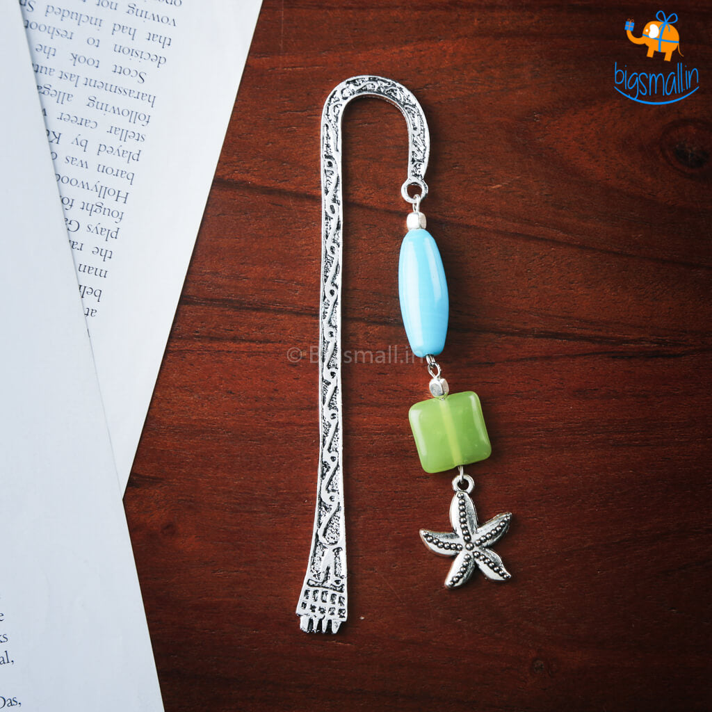 Mirror Of The Ocean Metallic Bookmark