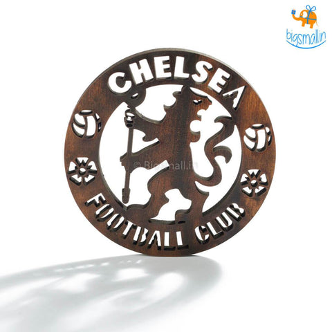 Chelsea Laser Cut Wooden Coasters - Set of 4 - bigsmall.in
