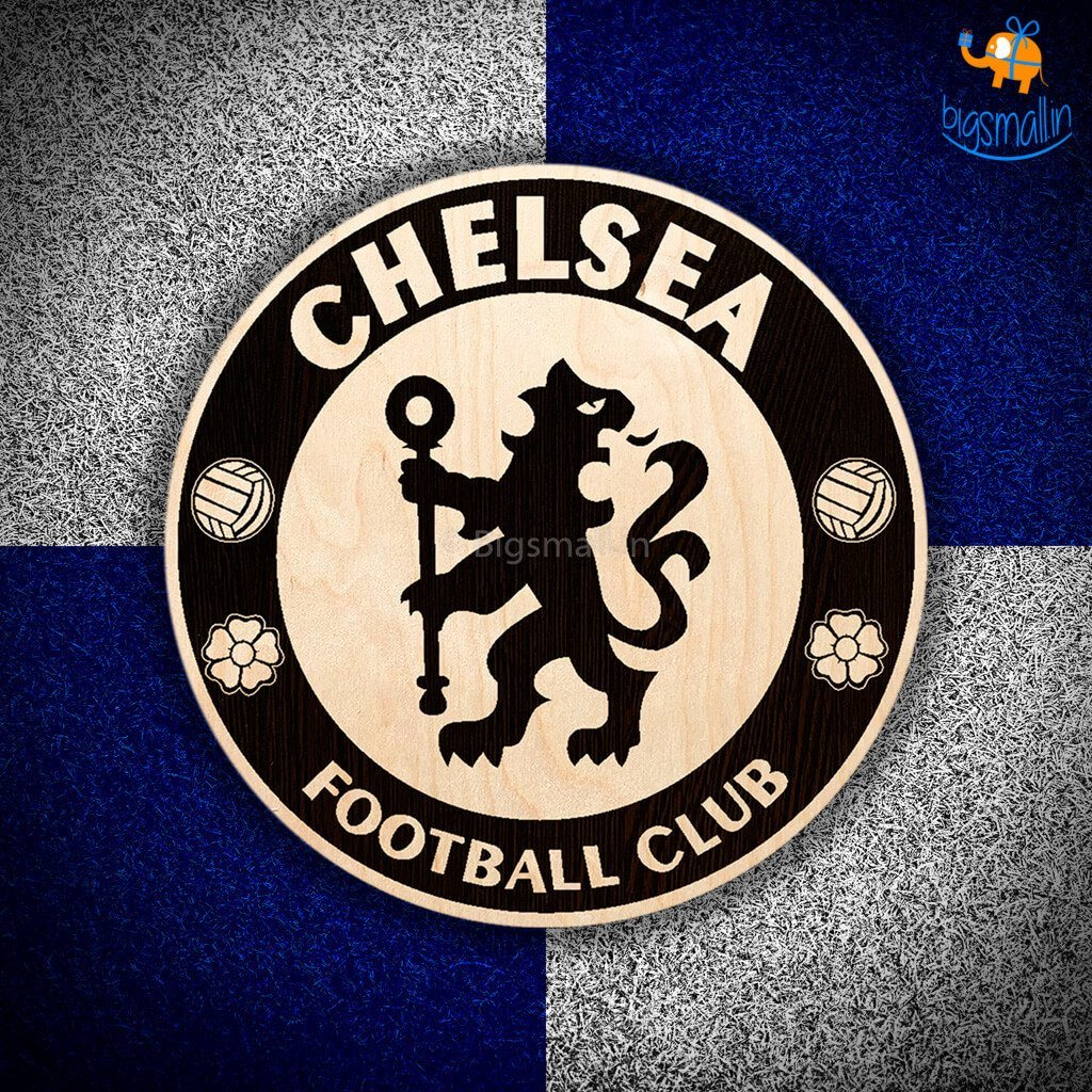 Chelsea Engraved Wooden Crest - bigsmall.in