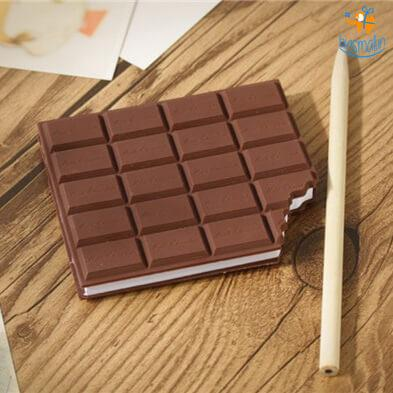Chocolate Memo Notebook - bigsmall.in