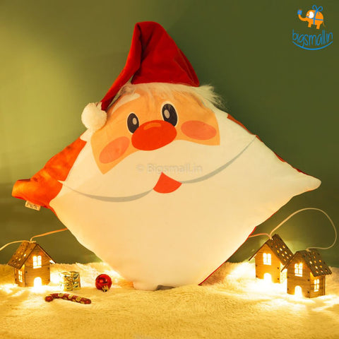 3D Santa Cushion - bigsmall.in