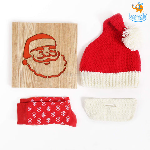 Santa Gift Set - 3 Pc - bigsmall.in
