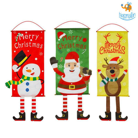 Christmas Roll Up Banner - bigsmall.in