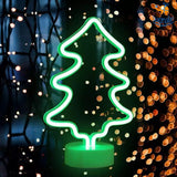 Christmas Tree LED Neon Lamp - bigsmall.in