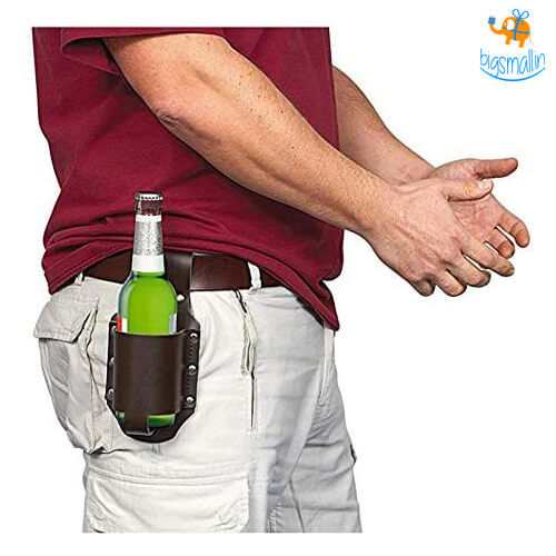 Beer Bottle Belt Holster