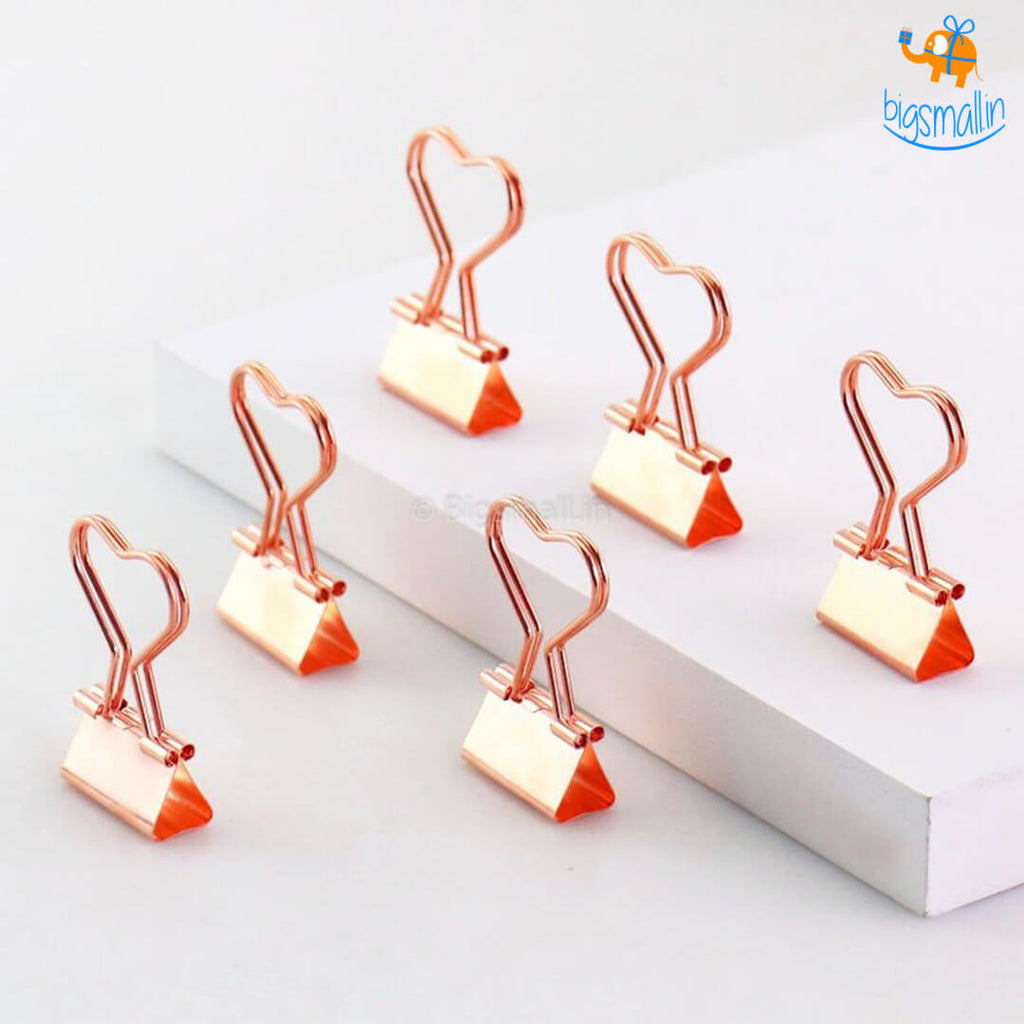 Mini Binder Clips Set