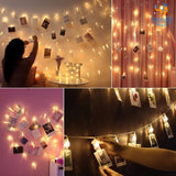 Photo Clip String LED Lights - bigsmall.in