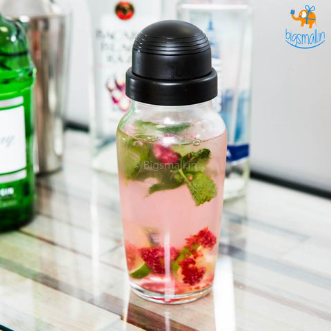 Protein Shaker Glass Bottle - bigsmall.in