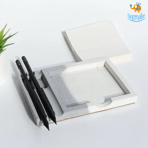 Concrete Dual Tone Writing Pad