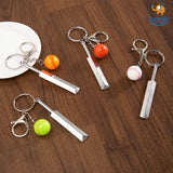 Cricket Metallic Keychain - bigsmall.in