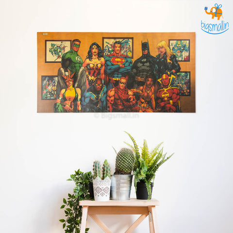 DC Superheroes Poster