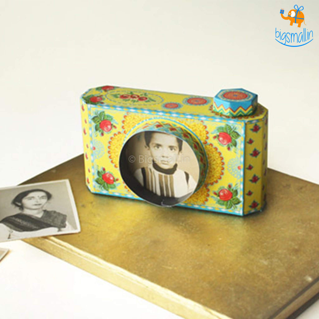 DIY Camera Photo Frames - Set of 2
