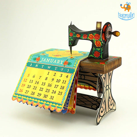 DIY Sewing Machine Calendar 2020-2021