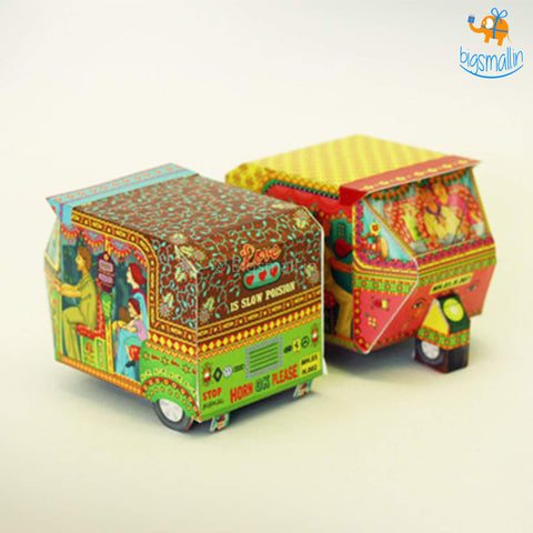 DIY Auto Rickshaw Box - Set of 2 - bigsmall.in