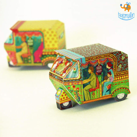 DIY Auto Rickshaw Box - Set of 2