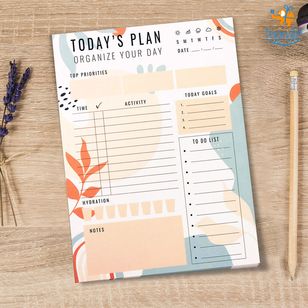 Today's Planner Tear-Off Pad