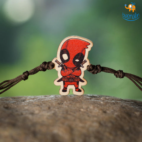 Deadpool Wooden Rakhi