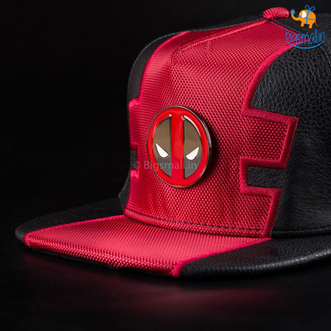 Official Deadpool Snapback Cap - bigsmall.in