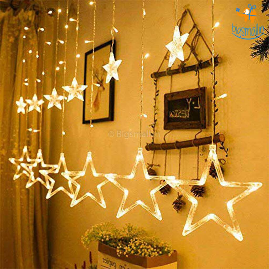 Star Curtain LED Lights - bigsmall.in