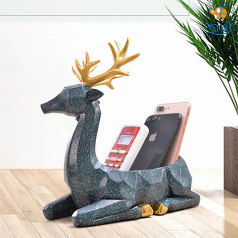 Deer Storage Holder Decorative - bigsmall.in